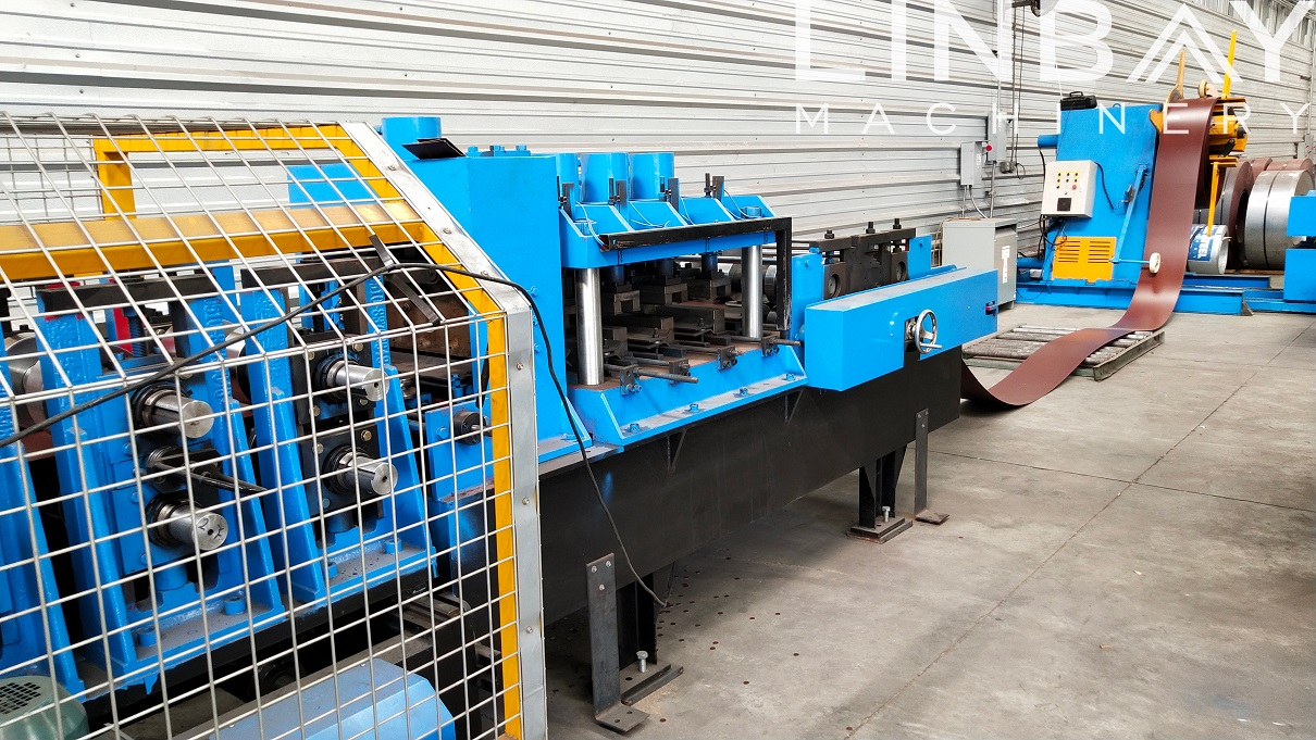 Prepainted Galvanized Steel CZ Purlin Machine Featured Image