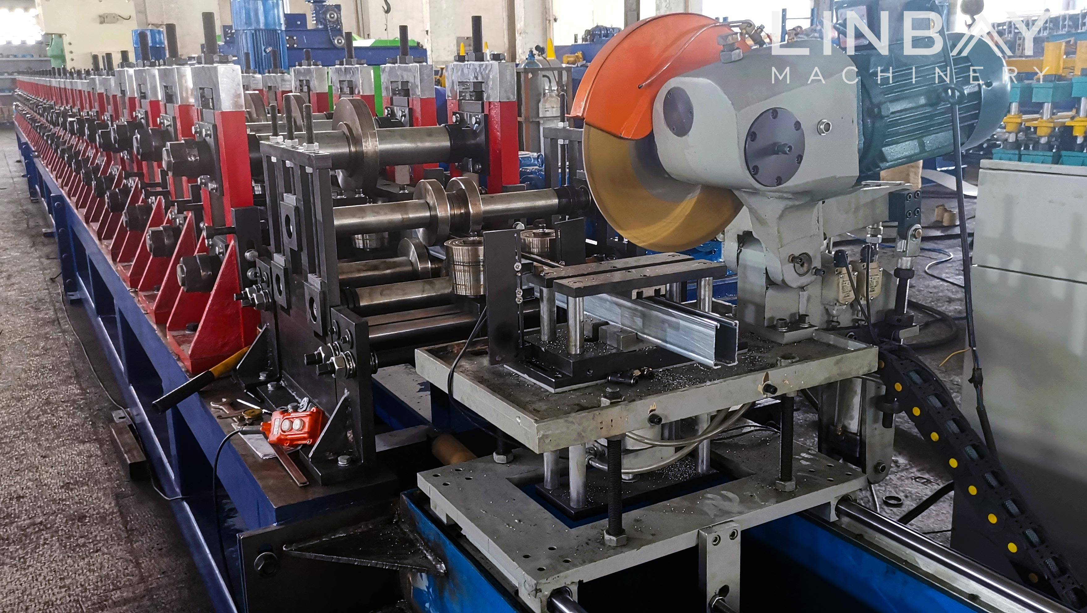 Strut Channel Roll Forming Machine Featured Image