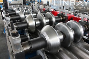 Introduction of rollers' material in roll forming machine