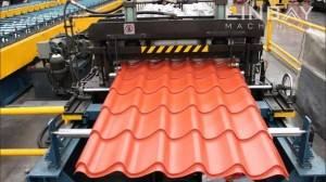 Roof Tile Panel Roll Forming Machine