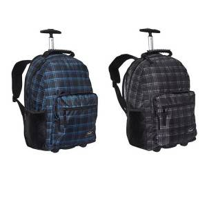 China eminent trolley backpack bag, waterproof wheeled backpack for the school