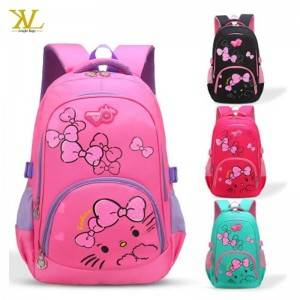 Factory Wholesale Cheap Children Girl School Backpack For Primary school