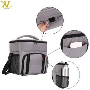 Reusable Washable Fitness Meal Prep Insulated Cooler Bag
