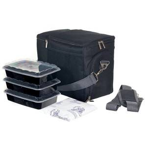 Picnic Ice Cooler Box, Cooler Portable Freezer Fitness Meal Prep Bag