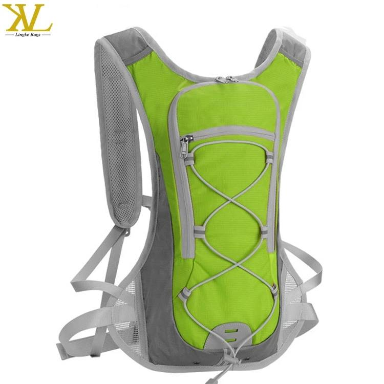 Custom Outdoor Waterproof Running Bag Nylon Hydration Pack With 2l Water Bladder Featured Image