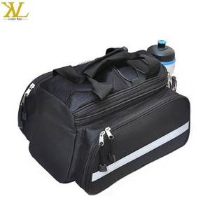 Waterproof Cycling Traveling Bicycle Backseat Saddle Bag, Bicycle Frame Bag