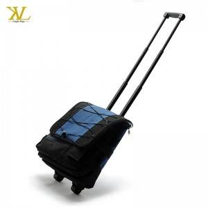 New Available Functional Insulated Rolling Cooler Bag With Wheels