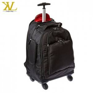 Hot Sale Trolley Luggage Bag, Waterproof Polyester Laptop Duffel Bag With Trolley, Wheeled Duffle Bag