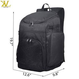Outdoor Sports Basketball Backpack With Laptop Compartment