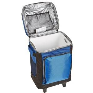 Rolling Cooler Bag With Wheels For Outdoor Soft Cooler Hard Liner Insulated Picnic Bag