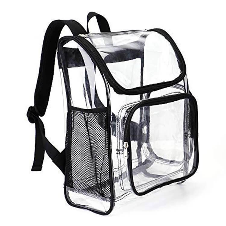 Clear transparent backpack bags Featured Image
