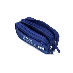 Large capacity stationery pen Bag for student, customized three layer pencil case