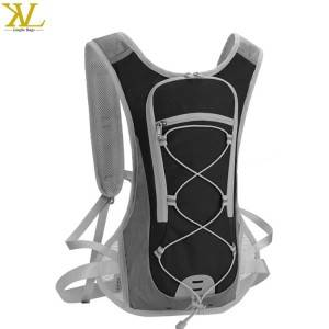 Custom Outdoor Waterproof Running Bag Nylon Hydration Pack With 2l Water Bladder