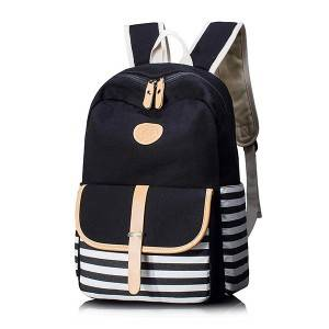 Casual Travel Laptop Shoulder Computer Bag, Canvas Laptop School Backpacks Used