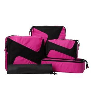 Travel Storage Bag Set, Customized 4pcs Set Travel Luggage Organizer Bag