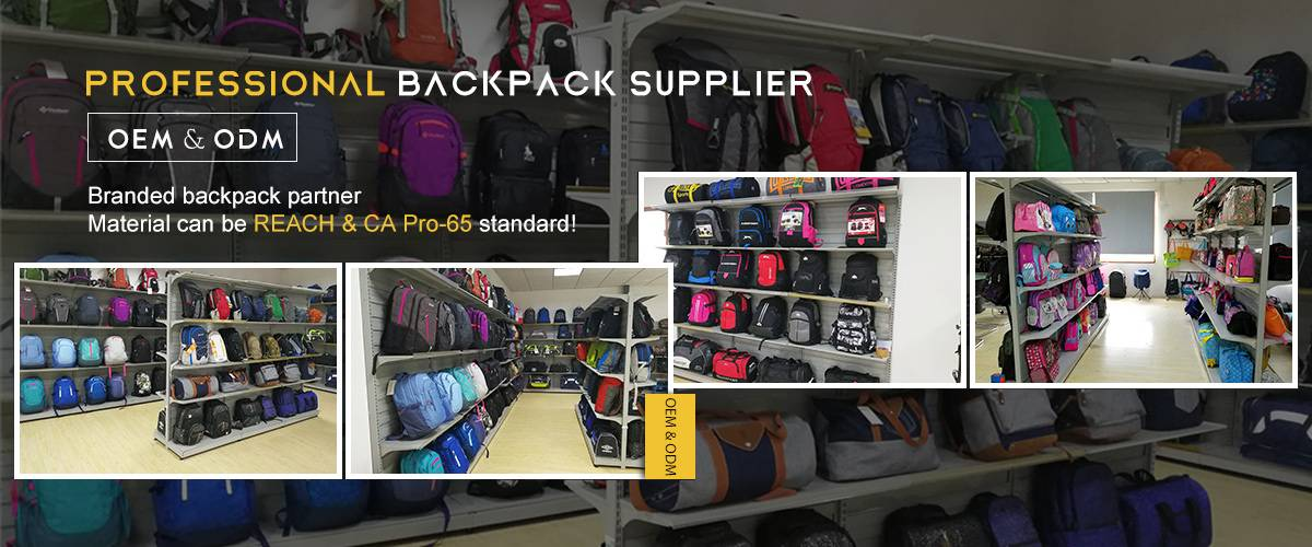 Professional backpack supplier