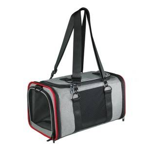 Prémio Airline Aprovado expansível Pet Backpack Dog Carrier Bag