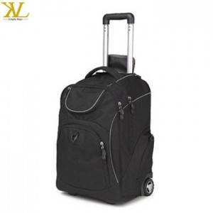 2018 Quanzhou Trolley Travel School Bag Backpack Laptop With Wheels, Laptop Bag With Trolley Strap