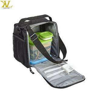 Outdoor Insulated Fitness Meal Prep Bag, Wholesale Picnic Cooler Lunch Bag