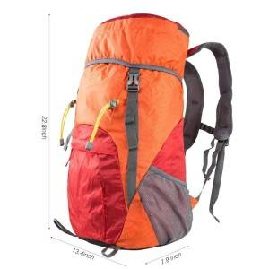 Large 40L Lightweight Waterproof Durable Hiking Backpack Bag