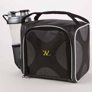 Six Leak-proof Containers Fitness Cooler Meal Prep Bag Insulated Cooler Bag