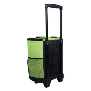 Wholesale Customized Trolley Cool Cooler Bag With Wheels