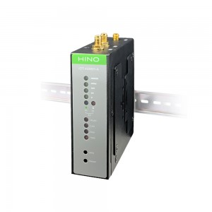 Industrial 4G LTE Router with AT&T Certification and DIN Rail Mounting