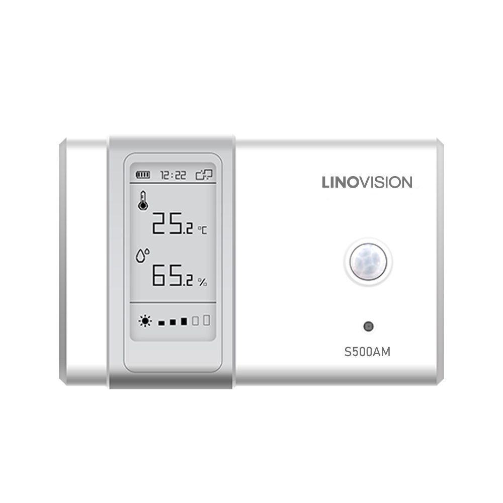 Indoor Comprehensive Ambience Monitoring Sensor with Built-in Display and NFC Config