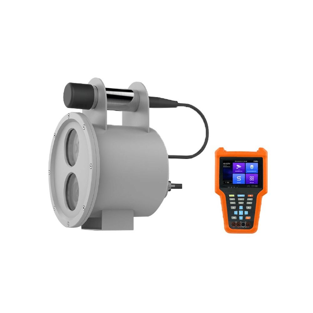 Industrial Underwater Camera with Dissolved Oxygen and Temperature Sensors designed for for Aquaculture farms