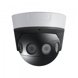 China New Product 4g Wireless Camera - 4 × 4MP 180° Panoramic Dome Camera with Video Stitching – Linovision