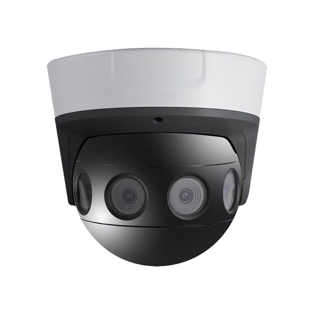 4 × 4MP 180° Panoramic Dome Camera with Video Stitching