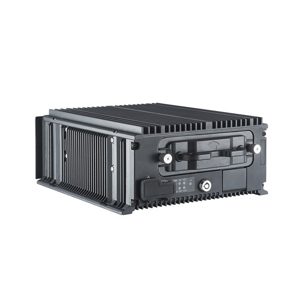 Industrial 8-Port PoE Mobile NVR Recorder for Bus Surveillance and Mobile Deployment
