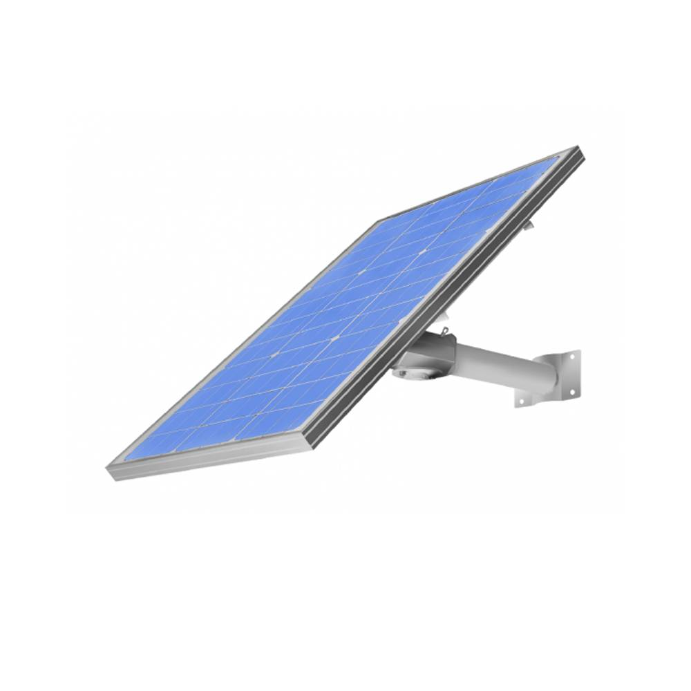 Fully Integrated Solar Power System for Remote Surveillance and IOT System