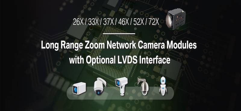 Compact Zoom Camera Module to Build Your Own Explosion-Proof Camera or Robotic Machines