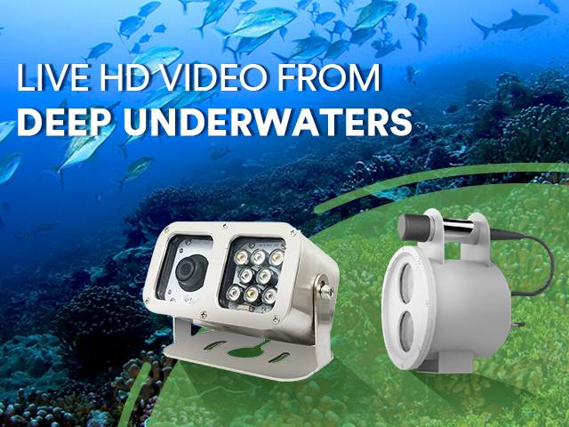 Get live HD video from deep underwaters