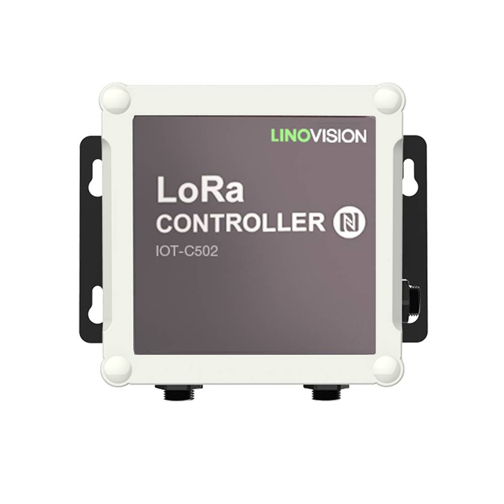 LoRaWAN Wireless IO Controller support Modbus RS485/RS232 and Analog Input