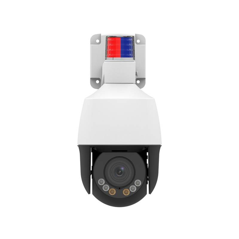 5MP Active Deterrence Network Mini PTZ Camera with Human/Vehicle Detection