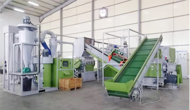 The Installation and Commissioning of LT1000 Waste Cable Recycling Production Line