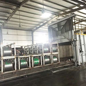 Trolley Type Heat and Aging Furnace / Aluminum Alloy Wires Annealing Furnace