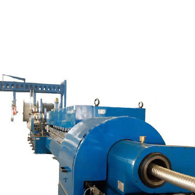 Special Design for Rope Braiding Machine - Metal Sheathing Line Argon Arc Welding, Molding and Corrugating – LINT TOP