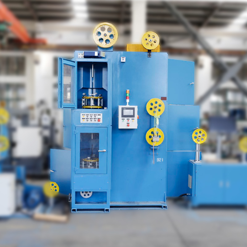 Manufacturer for Cable Rewinding Line - Double Head Vertical Taping Machine – LINT TOP