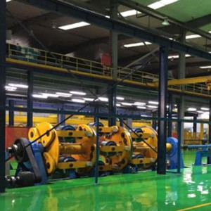 Steel Wire Armouring Machine for Submarine Cables