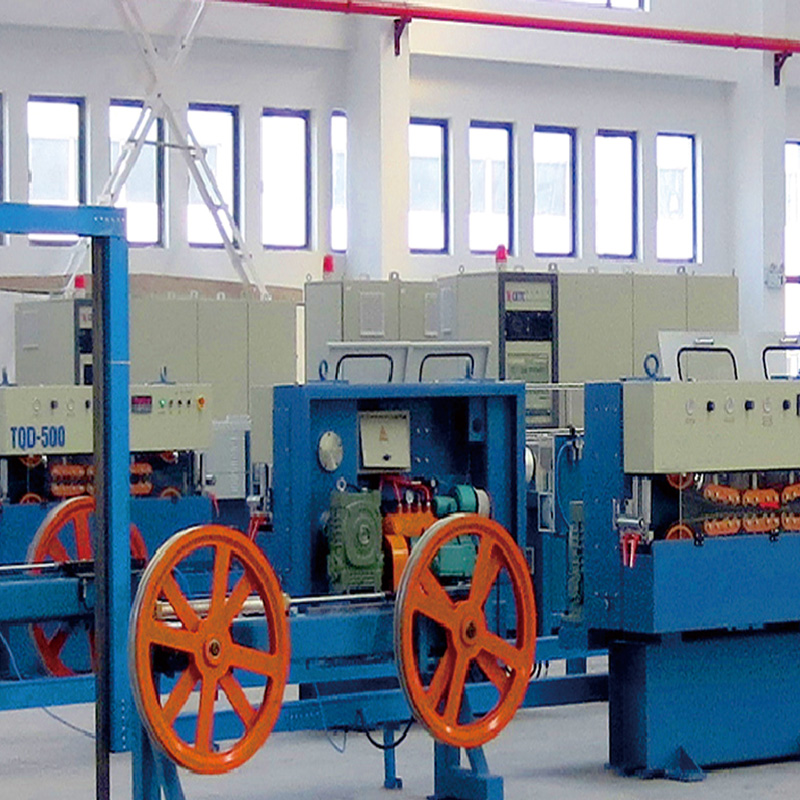 Cheapest Factory Wire Drawing Machine Manufacturer - SZ Stranding Line – LINT TOP