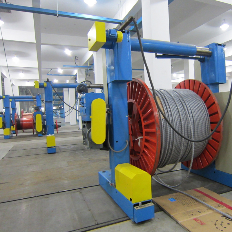 Factory Free sample Cable Making Machine - Triple-layer Co-extrusion Dry-cure CCV Line – LINT TOP