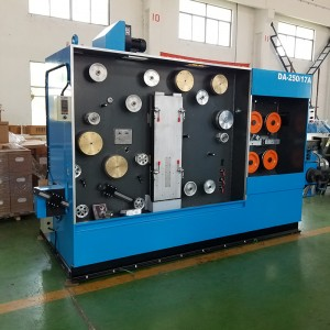 Factory Price Ftth Fiber Drop Cable Sheathing Line -