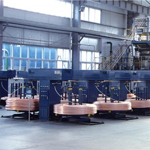 Upward Continuous Casting System for Oxygen-fre...