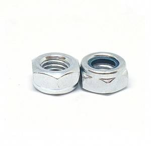 Factory source Customized Stainless Steel Nylon Hex Fingerboard Lock Nut