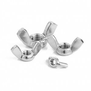 Factory Price Customizable nuts Wing Nuts DIN 315