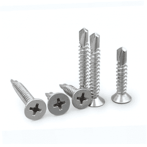Pav ca Head recessed countersunk lub taub hau Self drilling screws
