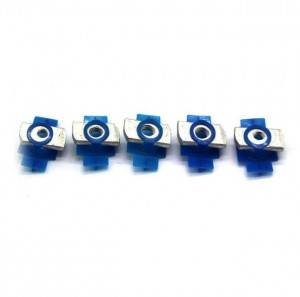High quality Nut with plastic wing butterfly wing nut of solar fastener